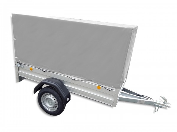 Hochplanen-Set TL-EU2010/75 AL 800 mm grau